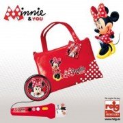 Geanta cu microfon si amplificator Minnie Mouse Reig Musicales