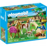 Joc PLAYMOBIL Paddock with Horses and Foal