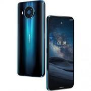 Nokia 8.3 5G Android Smartphone Desbloqueado con Memoria de 8/128 GB, cámara cuádruple SIM, visualización de 6.81 Pulgadas, Noche Polar (T-Mobile/Cricket/Tracfone/Simple Mobile)