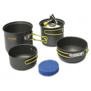 Set vase camping Pinguin Double Alu - 2 persoane