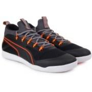 Puma evoSPEED Star Knit IGNITE Football Shoes For Men(Black)