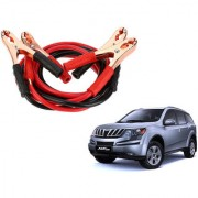 Auto Addict Premium Quality Car 500 Amp Heavy Duty Copper Core Tangle Battery Booster Cable 7.5 Ft For Mahindra XUV 500