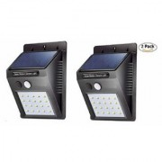 HFK 20 LED Bright Outdoor Security Light with Motion Sensor Waterproof Night Lighting pack of 2 with 6 months warranty