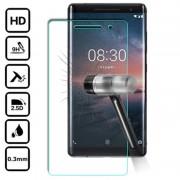 Protetor Ecrã em Vidro Temperado para Nokia 8 Sirocco - Transparente