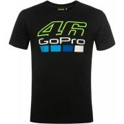 VR46 GoPro T-shirt Svart 2XL