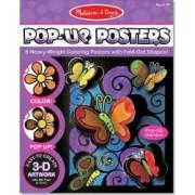 Postere 3D Fluturi si flori Melissa and Doug