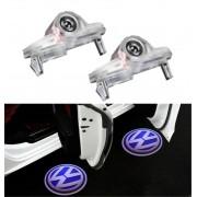 Proiectoare LED Laser Logo Holograme cu Leduri Cree Tip 3, dedicate pentru Volkswagen VW Golf 2004-2009