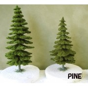Model Material Completed Trees Pine 60 Christmas Tree 3 Bottles