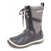 Cipele ženske zimske PROTEST - Samara - 260 BROWN TKANINA