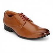 Hirel's Tan Derby Lace Up