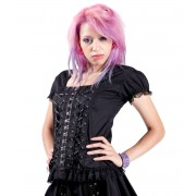 tricou stil gotic și punk femei DEAD THREADS BC9039