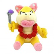 """Super Mario Bros Plush 5.9"""" / 15cm Wendy O. Koopa Character Doll Stuffed Animals Figure Soft Anime Collection Toy by Latim"""