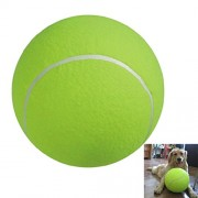 POPETPOP 9.5-inch Large Pet Toy Ball, Durable Jumbo Tennis Ball, Pet Training Toys Giant Tennis Ball for Medium and Large Dog Toys / Outdoor / Sports / Beach