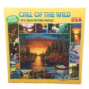 White Mountain Puzzles Call of the Wild - 750 Piece Jigsaw Puzzle