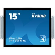 "Touch Screen, IIYAMA 15"", TF1534MC-B6X, 8ms, 700:1, HDMI/DP, 4:3, 1024x768"
