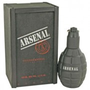 Gilles Cantuel Arsenal Black Eau De Parfum Spray 3.4 oz / 100.55 mL Men's Fragrance 440204