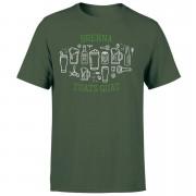 Brenna Tuats Guat! Men's T-Shirt - Forest Green - XXL - Forest Green