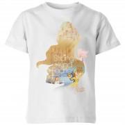 Disney Belle en het Beest Belle Be Strong Kinder T-Shirt - Wit - 3-4 Years - Wit