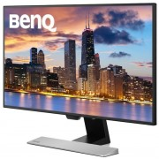 "Monitor IPS LED Benq 27"" EW2770QZ, QHD (2560 x 14440), HDMI, Display Port, Boxe, 5 ms (Negru/Argintiu)"