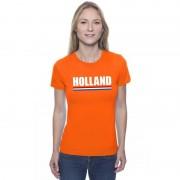 Bellatio Decorations Oranje Holland supporter shirt dames