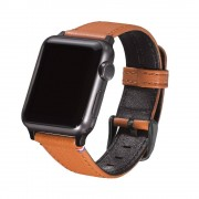 Decoded Horlogeband Decoded Leather Apple Watch Strap 38mm Brown
