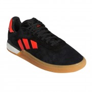 Adidas Skate boty Adidas 3St.004 core black/solar red/ftwr white