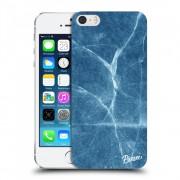 Műanyag átlátszó tok az alábbi mobiltelefonokra Apple iPhone 5/5S/SE - Blue marble