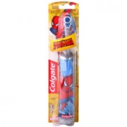 Colgate Kids Spiderman детска електрическа четка за зъби със сменяеми батерии много мека
