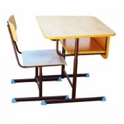 Set mobilier pentru Prescolari cu inaltime reglabila