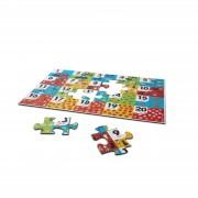 Puzzle de podea Numara animalele