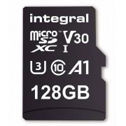 Card de memorie Integral 90V30 128GB Micro SDXC Clasa 10 UHS-I U3 + Adaptor SD
