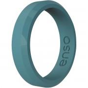 Enso Rings ENSO anneaux mince anneau de Silicone série biseau - Teal
