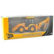 Jcb Construction Series 1:32 Scale Backhoe Loader Model Toy (Multicolour)