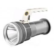 Kézi lámpa 5W 400lm + 2x18650 Li-ion + Fali töltő szett