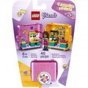 Конструктор Лего Френдс - Кубът за игра и пазаруване на Andrea, LEGO Friends, 41405