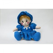 Baby Doll Girl Pram Baby Blue Color by Lovely Toys