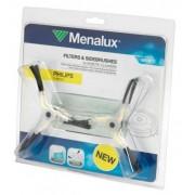 Motorový filtr 2x a 4x kartáčky Menalux MRK05 pro robotický vysavač Philips FC 9910/01
