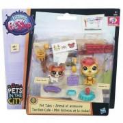 Мини комплект - Малки Домашни Любимци - Животинки с аксесоари - 2 налични модела - Hasbro, 033514