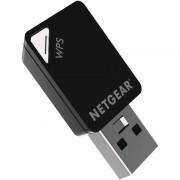 Desktop PC Wireless adapters Netgear AC600 Wifi Mini Dual Band USB Adapter - Zwart