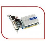 Видеокарта GigaByte GeForce 210 520Mhz PCI-E 2.0 1024Mb 1200Mhz 64 bit DVI HDMI HDCP GV-N210SL-1GI