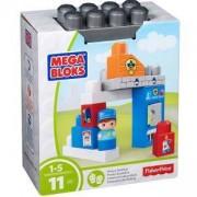 Конструктор Mega Bloks - Полицейска кабинка - Mattel, 175030