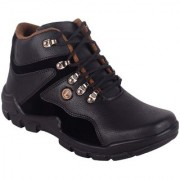 Aadi Men's Brown Faux Leather Casual Boot