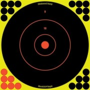 "Birchwood Casey Shoot-N-C Target - 12"""" Bullseye, 5 Pack"