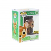 Funko Pop Bambi Flocked Exclusivo Peludito-Multicolor