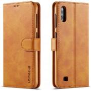 Samsung Galaxy A10 Hoesje - Luxe Book Case - Bruin