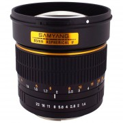 Samyang SY85M-C 85mm F1.4 Lens For Canon