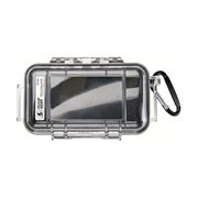 Pelican Micro Case 1015 Carrying Case Camera, Cellular Phone - Clear Yellow