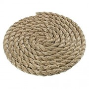 PARACORD PLANET 3/4 inch Diameter ProManila (UnManila) Polypro Rope Available in Lengths of 10, 25, 50, 100 Feet