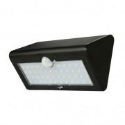 Led-solar-buitenwandlamp met bewegingsmelder, schwarz