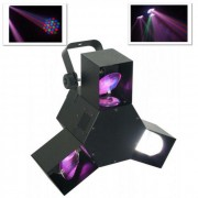 DMX Tripleflex effetto luce LED 8 canali 3 scanner